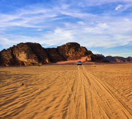 Jeep-Tour in Wadi Rum