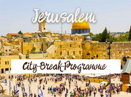 Jerusalem City Break Programme